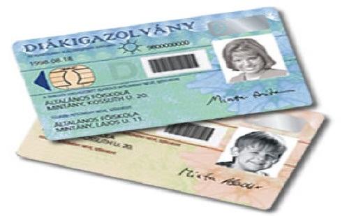 Kártya típusú személyire és diákigazolványra is megvásárolható. Kattintson a részletekre!